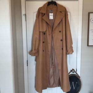**NWT** ASOS Design Oversized Trench Coat in TALL